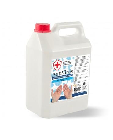 Жидкое мыло ANTIVIRUS HDPE, 5 л