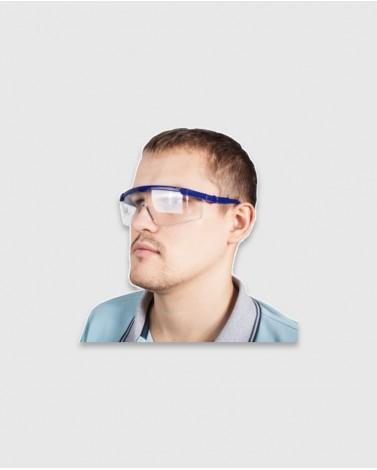 Защитные очки из ударопрочного поликарбоната