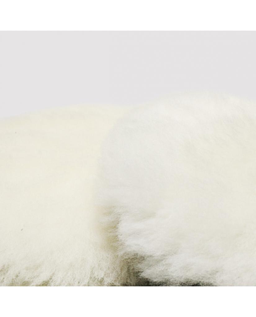 """Полировальный круг шерсть ягненка """"ММ"""" белый, 180 мм"""