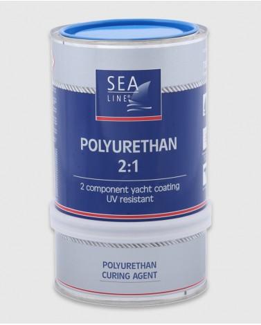 Полиуретановая краска (Голубая RAL 5015)