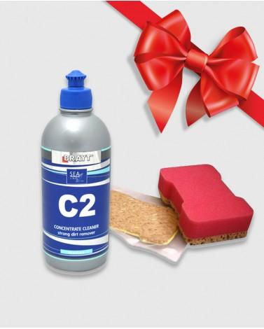 C2 + губка в подарок