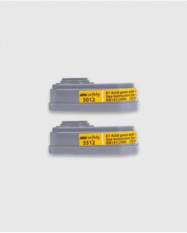 Фильтры для защиты от кислых газов и паров е1