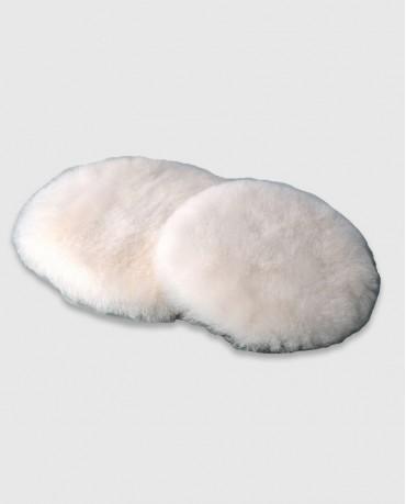 Полировальный круг шерсть ягненка «MM» белый