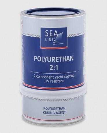 Полиуретановая краска (Синяя RAL 5003)